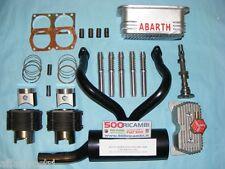 FIAT 500 F/L/R 126 KIT ELABORAZIONE MOTORE ABARTH 650 PISTONI CAMMA CANNE COPPA