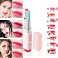 Korean Moisturzing Two Tone Lipstick Bite V Cutting Nourishing Lipstick Balm Lip