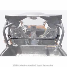 Commander XT 2 Seat Harness Bar Kit USA MADE Roll Cage Mount 4 Point Safety Belt