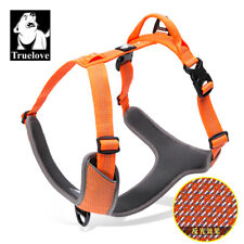 Pup & Hound dog harness, adjustable, reflective, 2 leash hook-up, soft dog vest