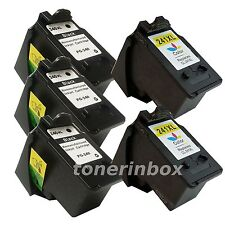 5 pk PG-240XL CL-241XL Ink Cartridge for Canon PIXMA MG and MX Series Printer