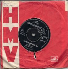 """Johnny Kidd And The Pirates I'll Never Get Over You UK 45 7"""" single"""
