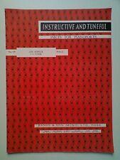 INSTRUCTIVE AND TUNEFUL PIECES FOR PIANOFORTE: No.229 LES ADIEUX J. L. DUSSEK