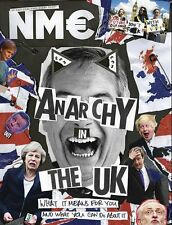 The NEW MUSICAL EXPRESS NME 22 JULY 2016 ANARCHY IN THE UK Front Cover n.m.e.