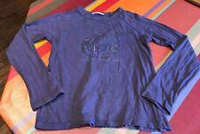 Haut tshirt manches longues KENZO Kids 10 ans, violet, Val 45€