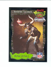1994 Coke RENALDO TURNBULL New Orleans Saints Monsters of the Gridiron Card
