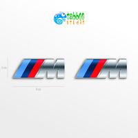 Adesivi logo emblema BMW M Sport auto coche pegatinas autocollants stickers
