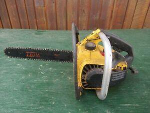 "Vintage McCULLOCH MAC 110 Chainsaw Chain Saw with 13"" Bar"