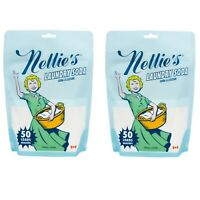 Nellie's All Natural Laundry Soda, 50 Load Bag 1.6 lb (Pack of 2)