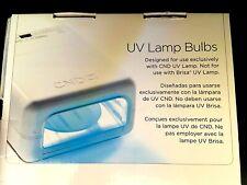 GENUINE CND UV LAMP BULBS.- NEW IN BOX