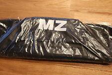 Sitzbezug Aufdruck MZ* schwarz strukturiert ETZ 125, 150, ETZ 251 301