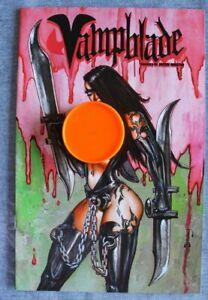 VAMPBLADE #1 SIMON BISLEY NUDE VARIANT COVER