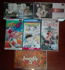 Lote juegos super Famicom jap