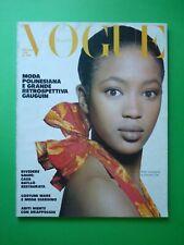 VOGUE Italia Giugno 1988 June NAOMI CAMPBELL Monica Gripman ITALY magazine 460
