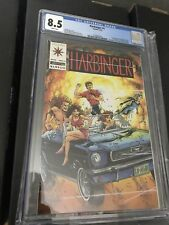 Harbinger 1 CGC 8.5 With Coupon White Pages Great Case