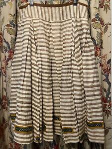 Easton Pearson 100% Silk, Fully-lined Skirt, Size 14