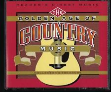 READERS DIGEST GOLDEN AGE OF COUNTRY MUSIC 4CD OOP LIKE NEW