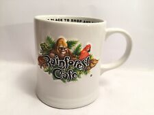 More details for rainforest cafe 3d embossed mug 10 years wild a wild place to shop and eat