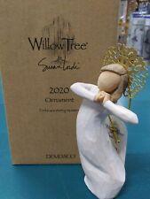 Willow Tree Annual Ornament 2020 Wedding Baptism Graduation Christmas Gift
