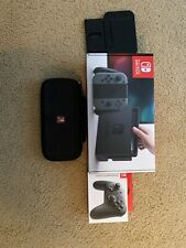 Nintendo Switch 32GB Gray Console (With Pro Controller and Games on Account)