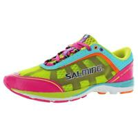 Salming Womens Distance 3 Pink Running Shoes Sneakers 5.5 Medium (B,M) BHFO 3123