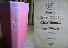 Fourth Coronet Girls' Annual (1959) in good condition
