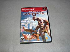God of War for Playstation 2 PS2 COMPLETE TESTED & WORKING Game