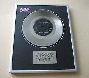 TALKING HEADS Road To Nowhere PLATINUM PRESENTATION DISC
