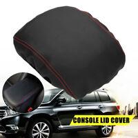 Fits For Toyota Highlander 2008-2013 Leather Armrest Center Console Lid Cover