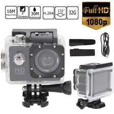 "2"" HD 1080P 12MP Waterproof Sports Action Camera Video DV Camcorder for Gopro"