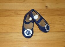 Baby Gap Toddler Girl Mary Jane Navy Blue Ballet Flats Shoes Size 7