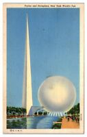 Trylon & Perisphere, 1939 New York World's Fair Postcard