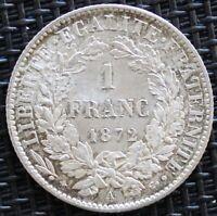 FRANCE 1 FRANC CERES 1872 A