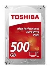 Toshiba HDWD105UZSVA P300 500GB Unidad de disco duro 500GB Serial ATA III dis...