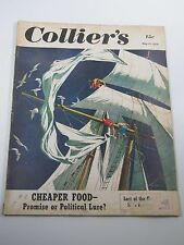 Collier's Magazine- Cheaper Food- Promise or Political Lure?- May 13, 1950