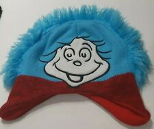 Dr. Seuss Cat in the Hat Thing 1 Childrens Beenie