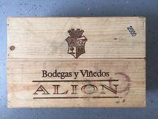 Vega Sicilia Alion - 2000  - Wooden Wine Box