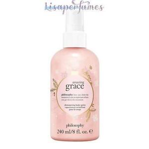 Philosophy Amazing Grace Shimmering Body Spritz 8oz / 240ml NIB