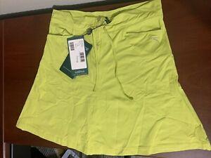 Chervo Jovane Ladies Golf Skort Us 6 Italian 42 NEW NWT 62485 Yellow