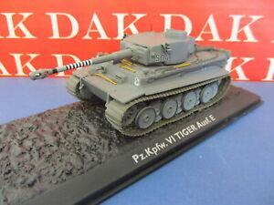 Die cast 1/72 Modellino Carro Armato Tank Tiger 1 1.SS Pz. Div. M. Wittmann 1944