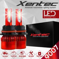 XENTEC LED HID Headlight kit 9007 HB5 White for 2002-2005 Ford E-350 Club Wagon