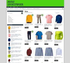 E-COMMERCE-MENS-SPORTSWEAR-WEBSITE-BUSINESS-ONE-YEARS-HOSTING-NEW-DOMAIN t