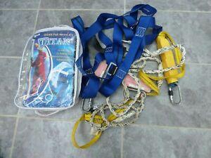 Miller titan 1011896 one point scaffolders fall arrest harness kit 1.8m lanyard