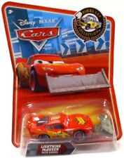 Disney Cars Final Lap Collection Lightning McQueen With Shovel Diecast Car