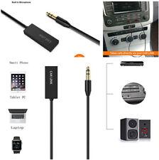 Bluetooth Audio Empfänger 3,5 mm Aux Stecker Audio Eingang Eingebautes Mikrofon