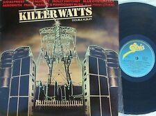 Killer Watts ORIG OZ 2LP Hard rock sampler EX '80 Ted Nugent Judas Priest