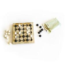 "Seega Decorative Board Game - Premium Handmade Ceramic Replica Set. 10"""