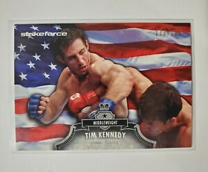2012 Topps UFC Bloodlines Tim Kennedy /188 Flag Parallel #145