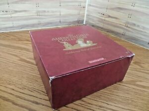 NEW in Burgundy Box American Girl Samantha's Victorian 5 Pc Lemonade Set GLASS