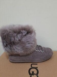 Ugg Australia  Women's Antoine fur Boots  Size 6.5 NIB